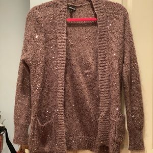 Express Sequin Cardigan